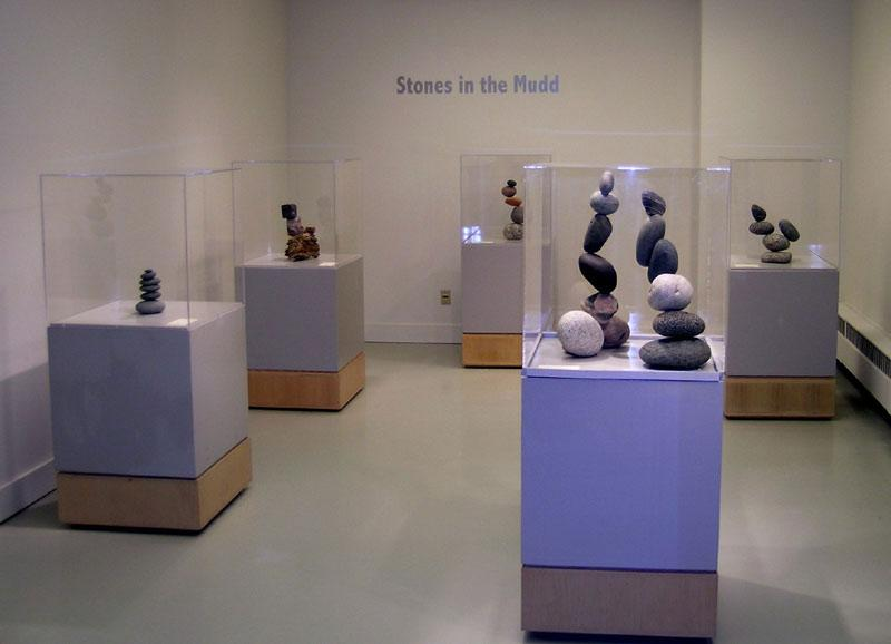 Dr. Palmquist's art show     Stones in the Mudd . How cool are these sculptures! Contact me if you are interested in purchasing one and I will put you in contact with the artist himself.