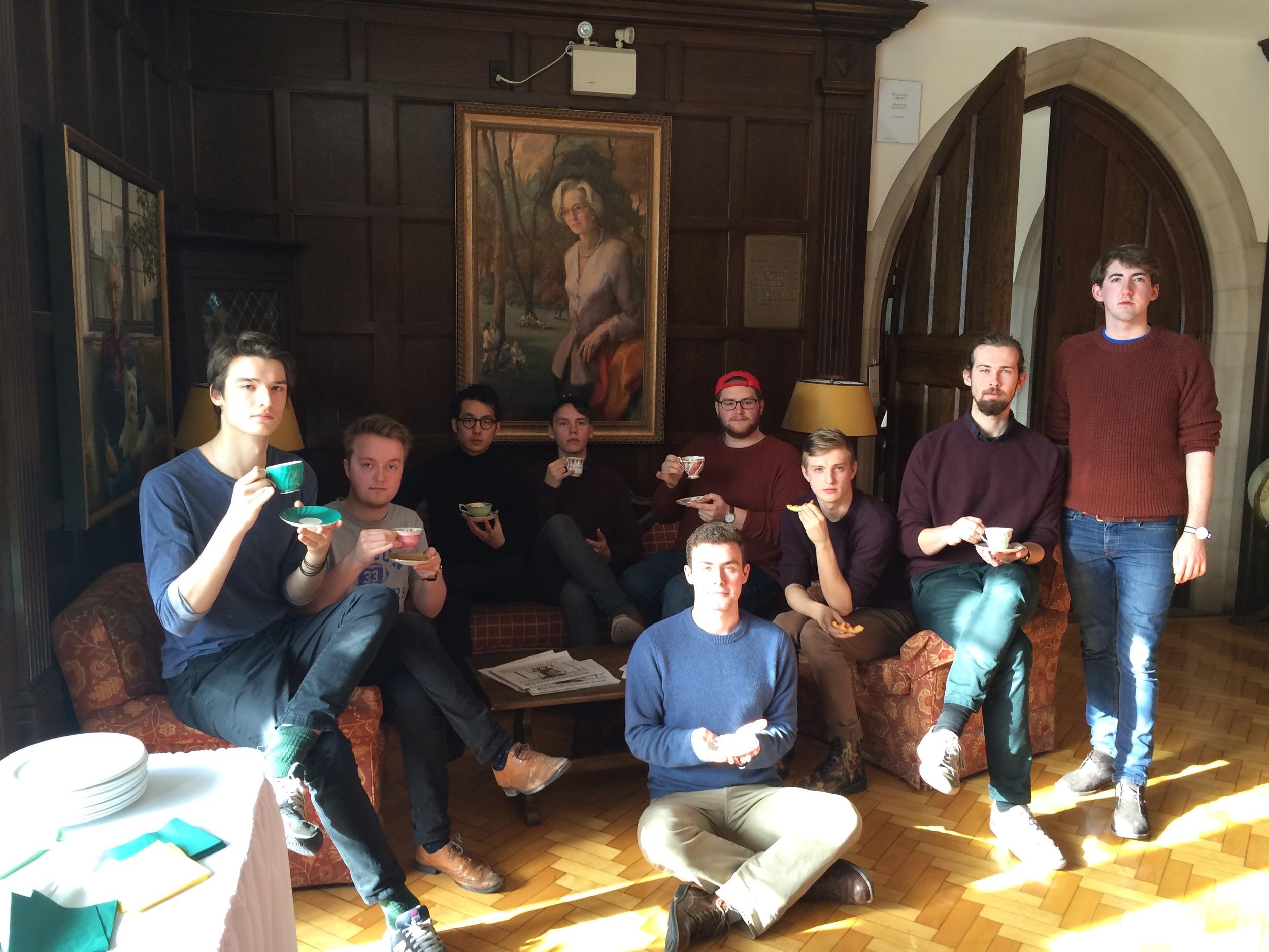 Cuppa' tea at Harvergal College