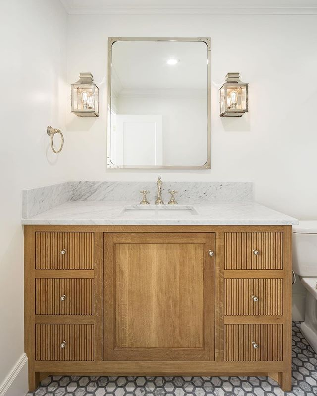 Here's some bathroom eye candy for you. @the_fox_group_