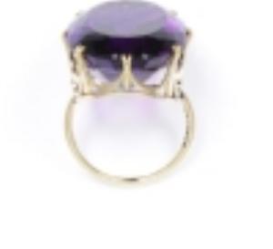 V&A Museum Amethyst Ring 1800-1869 Europe