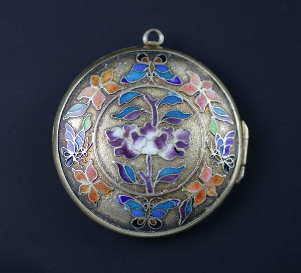 Beautiful example of Champlevé Enamel. Click on image to find out more about this lovely piece.