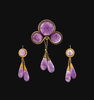 A Victorian gold and amethyst demi-parure   Christie's Sale 6423      Copyright © 2017 by Pippa Gaubert Bear and Elder & Bloom. Unauthorized use and/or duplication of this material without express and written permission from this website's author and/or owner is strictly prohibited. Excerpts and links may be used, provided that full and clear credit is given to Pippa Bear and Elder & Bloom with appropriate and specific direction to the original content.