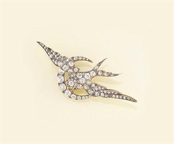 Diamond Victorian brooch   Christie's Sale 5890