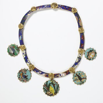 France, c. 1867 Cloisonné enamel and gold V&A Museum