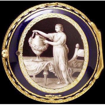 London, 1780 Enameled gold box V&A Museum