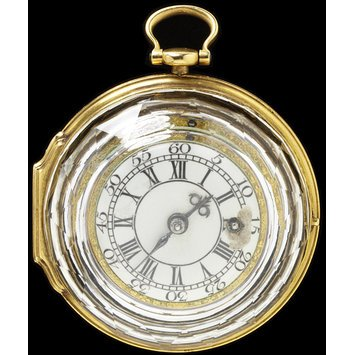 England, c. 1800 Gold and rock crystal watch V&A Museum