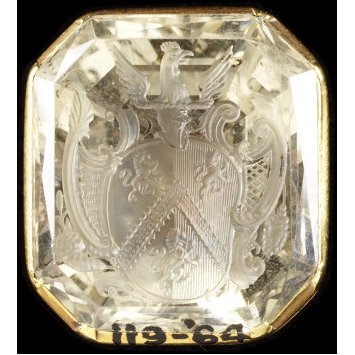 England, c. 1750 Seal with rock crystal intaglio V&A Museum