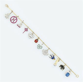 A charm bracelet, by Cartier   Christie's Sale 5892