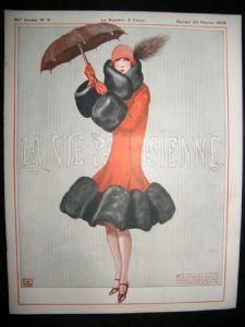 La Vie Parisienne   Art deco 1926 Print   Albion Prints
