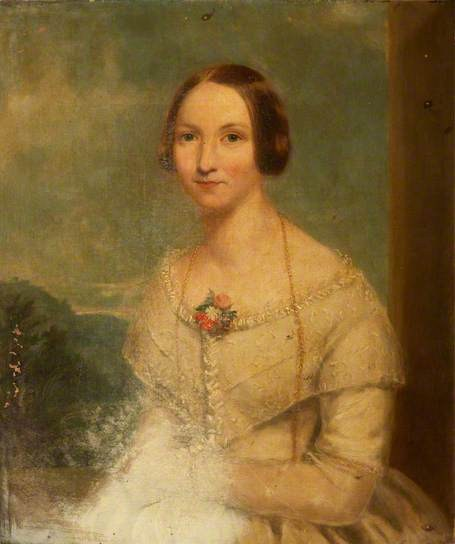 Portrait of an Early Victorian Woman, unknown artist