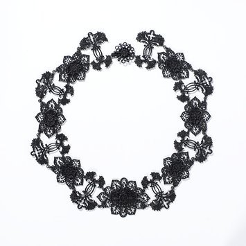 Germany, c.1820, Iron and Steel necklace.   V&A Museum