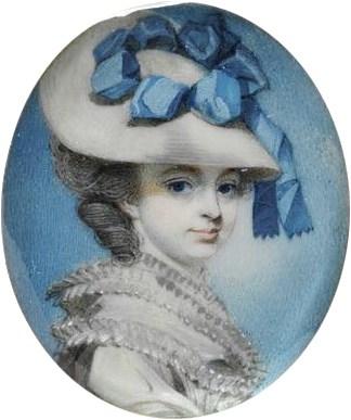 George Engleheart – Portrait of Unknown Woman – circa 1780 – Victoria & Albert Museum