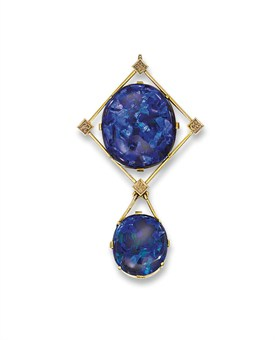 Christie's sale 7634, The London Sale: Jewels, 10 December 2008, London, King Street   Arts & Crafts Opal Pendant