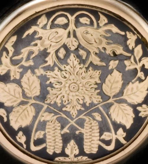Art Nouveau Niello detail