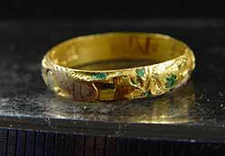 Post-medieval posie ring (1500-1650), found in Rowton Castle area, Shropshire. © Portable Antiquities Scheme and British Museum