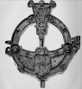 Drawing of the Tara Brooch