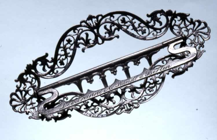 Devaranne Cast Iron Brooch.