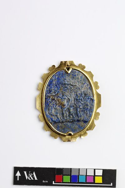 Lapis Lazuli Cameo. 1580-1600. Italy. V&A Museum.