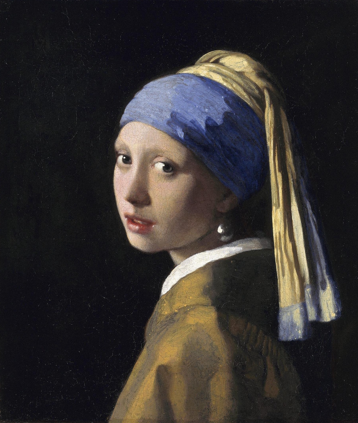 'The Girl With a Pearl Earring'. Vermeer.
