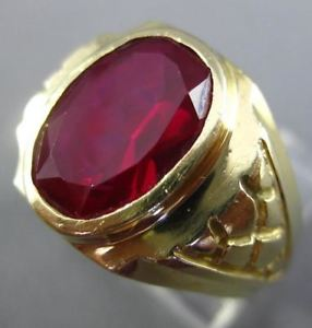 Rubellite Estate Ring. Ebay.