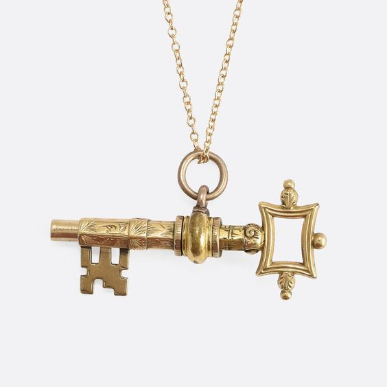 Victorian Key Pendant. Source: Butter Lane Antiques.