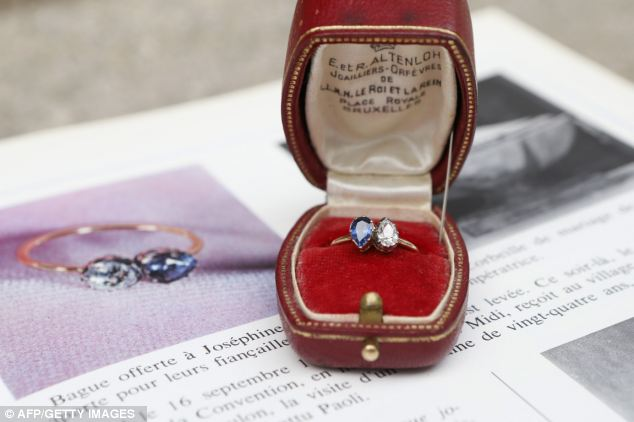 Napoleon and Josephine's engagement ring.