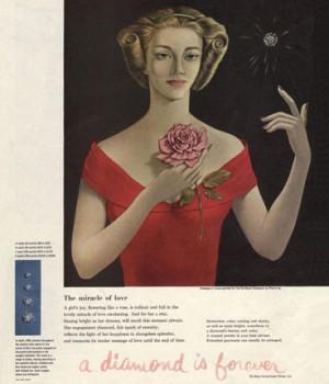 1948 De Beers Campaign.
