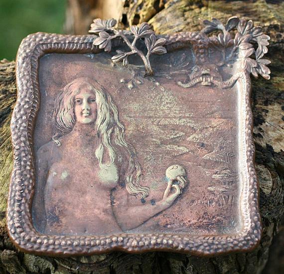 Art Nouveau Bronze Garden of Eden Dish.jpg