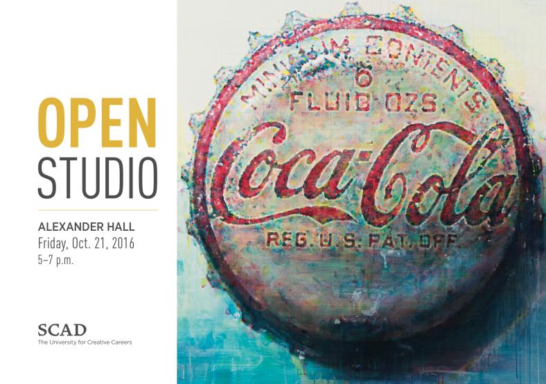 """Jong-Kwang Hyun,  Coca-Cola Cap No 1  ,acrylic ink, graphite, gloss varnish, and gel mediums on canvas, 48""""×48"""", 2015"""