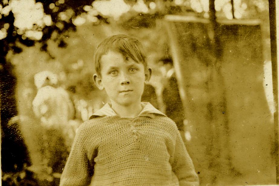 Remi Martel- Paul's son-circa 1923