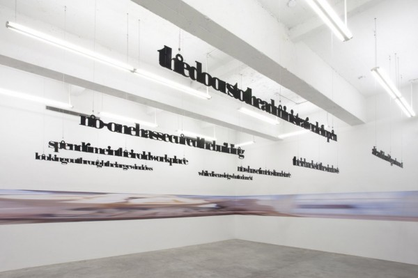 Liam Gillick and Louise Lawler: November 1 – December 21 at Casey Kaplan Gallery