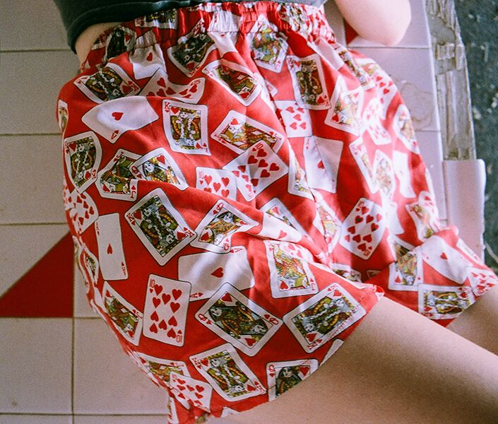 #tslarchive deck of cards shorts from our dear summa shoot '14