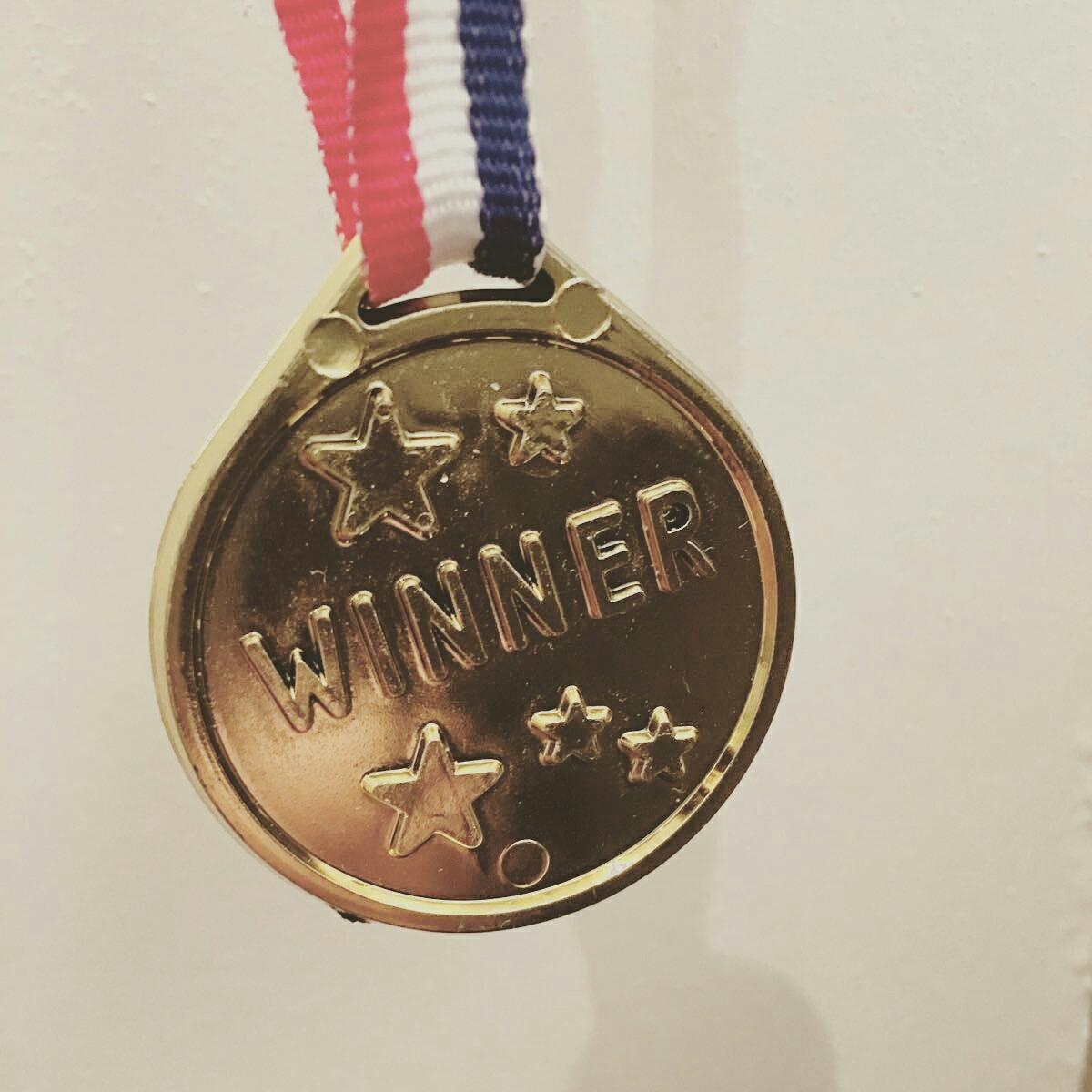 My prize for winning last week's Marathon.
