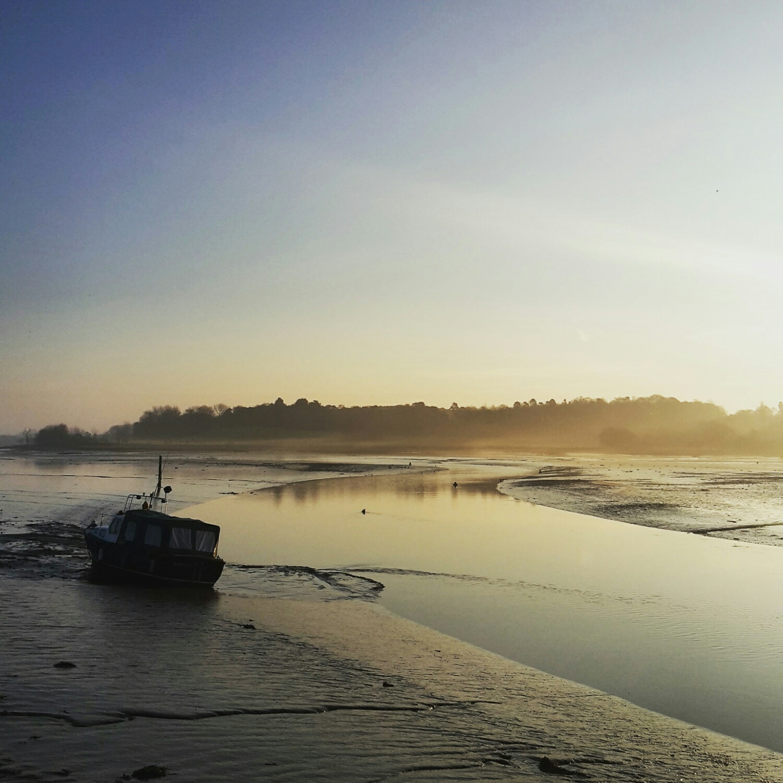 The River Deben in Woodbridge, Suffolk this week.