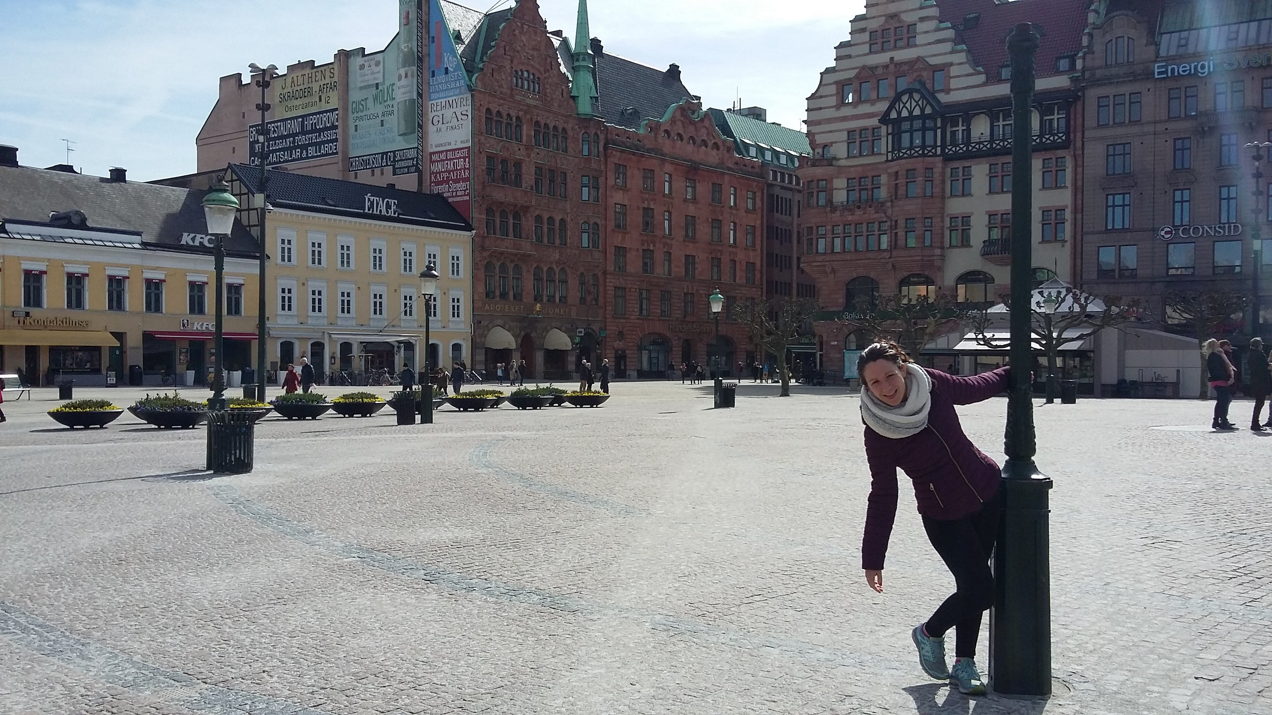 Hanging out in Sweden