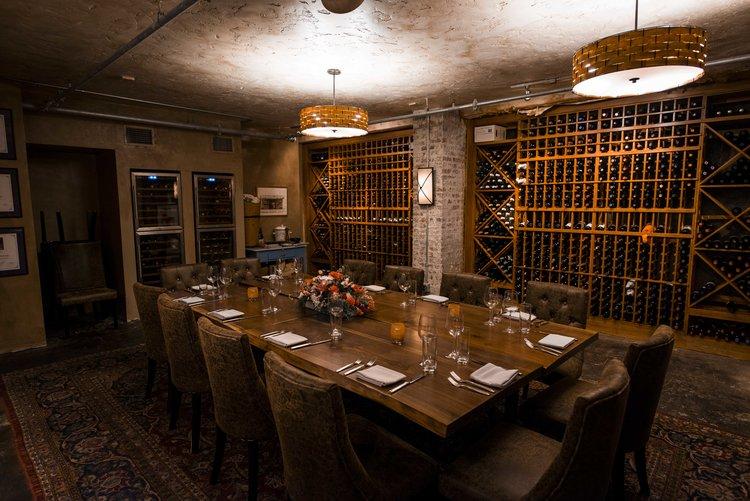 The Wine Cellar at Vallozzi's