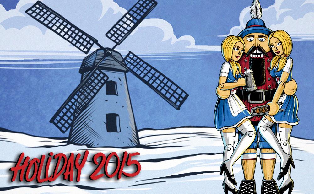 Blind Skateboards Holiday 2015 catalog