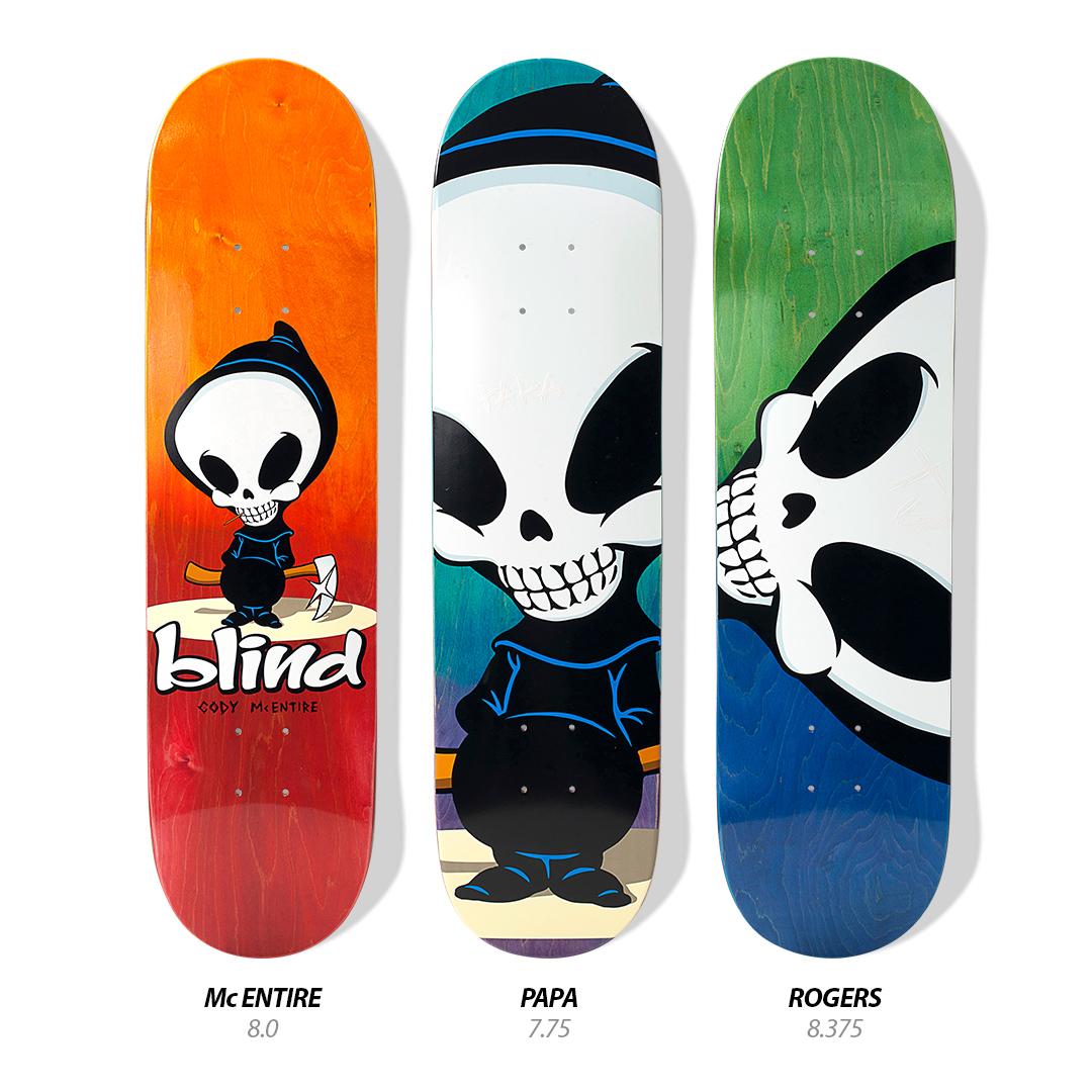 Summer 2019 D3 Blind Skateboards