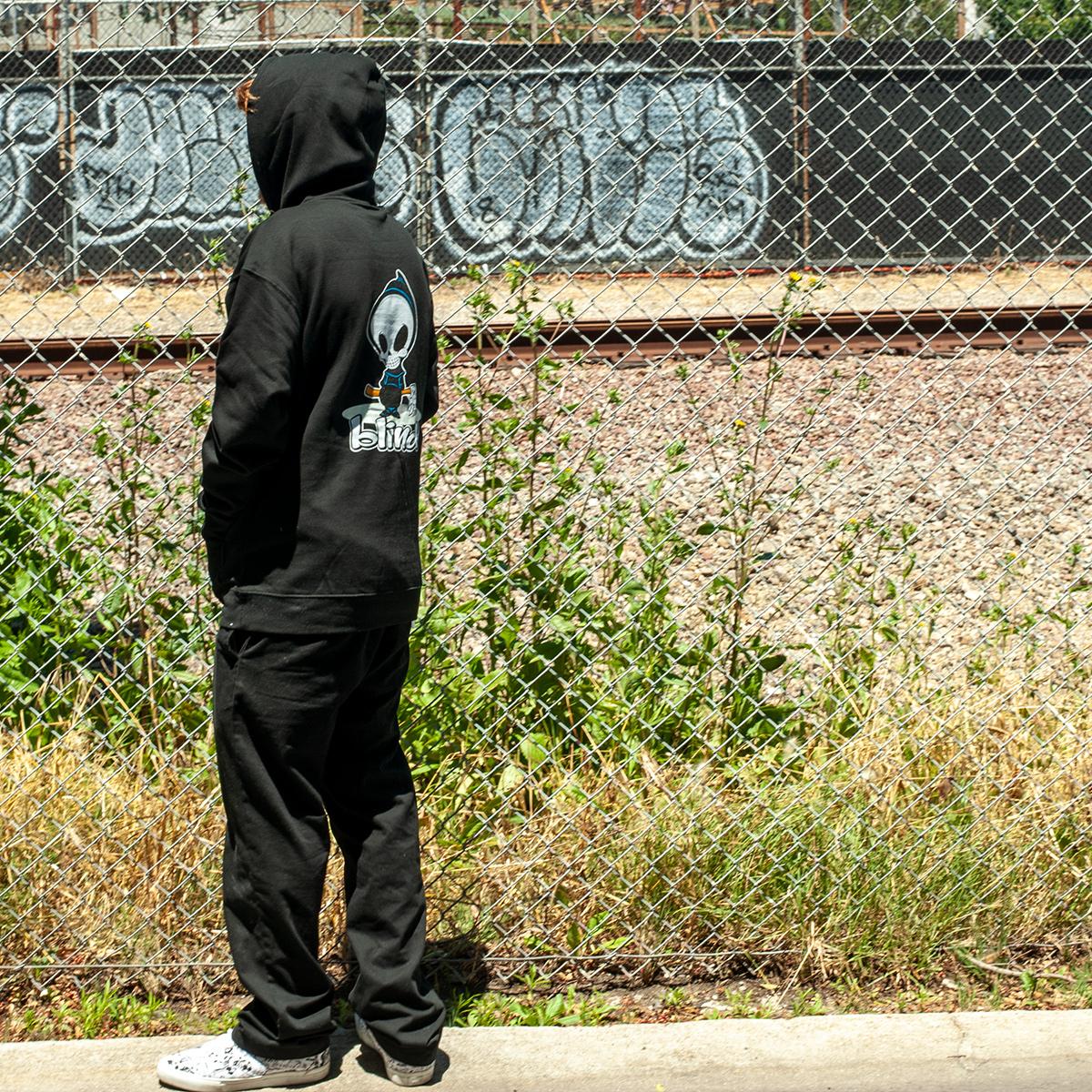Blind Skateboards OG reaper apparel jordan maxham hoody sweatshirt blk