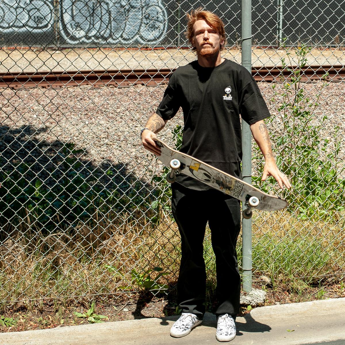 Blind Skateboards OG reaper apparel jordan maxham tee t-shirt