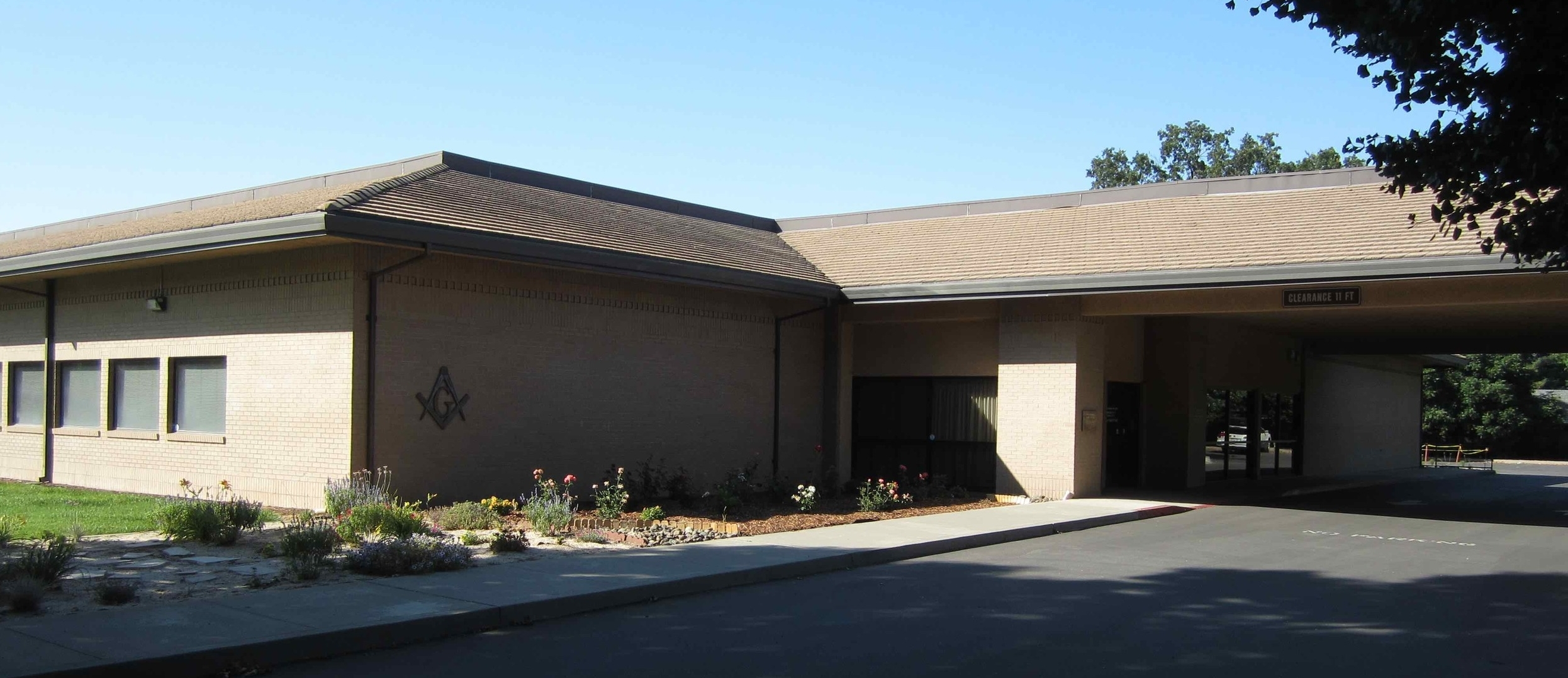 Current Lodge at 1110 E. East Ave, Chico, CA.