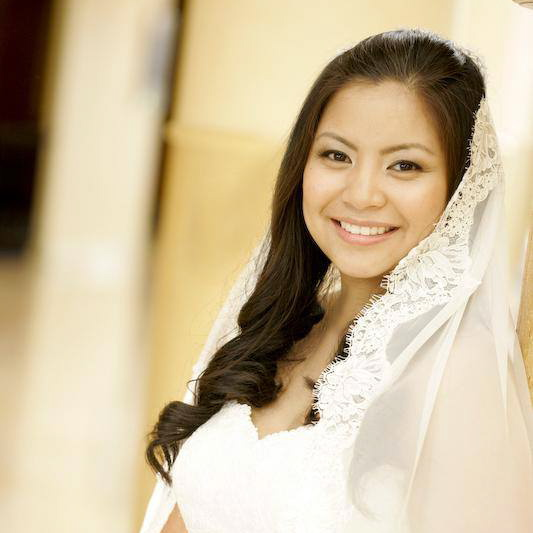 Natural Bridal Makeup for Asian Bride,  by Ventura Wedding Makeup Artist Glory Munoz