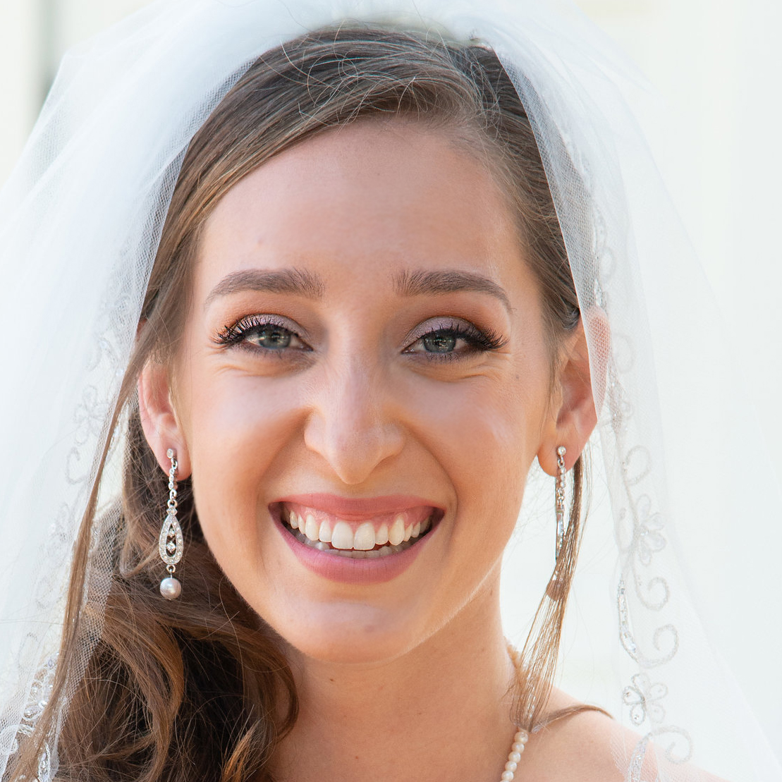 Natural Bridal  Makeup for Blue Eyed, Thousand Oaks Bride by Wedding Makeup Artist Glory Munoz
