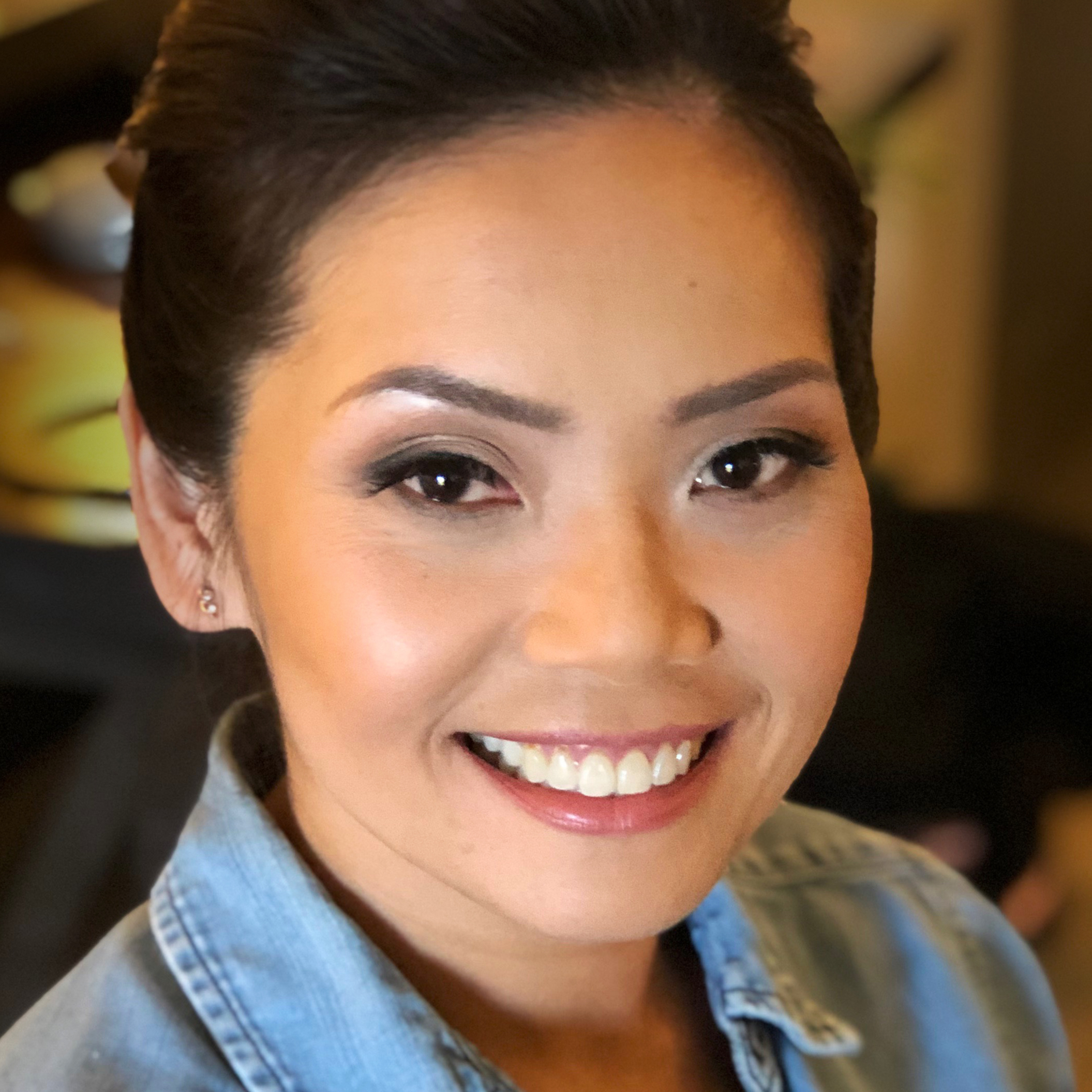 Natural Bridal Makeup for Beautiful Asian Bride,  by Ventura Wedding Makeup Artist Glory Munoz