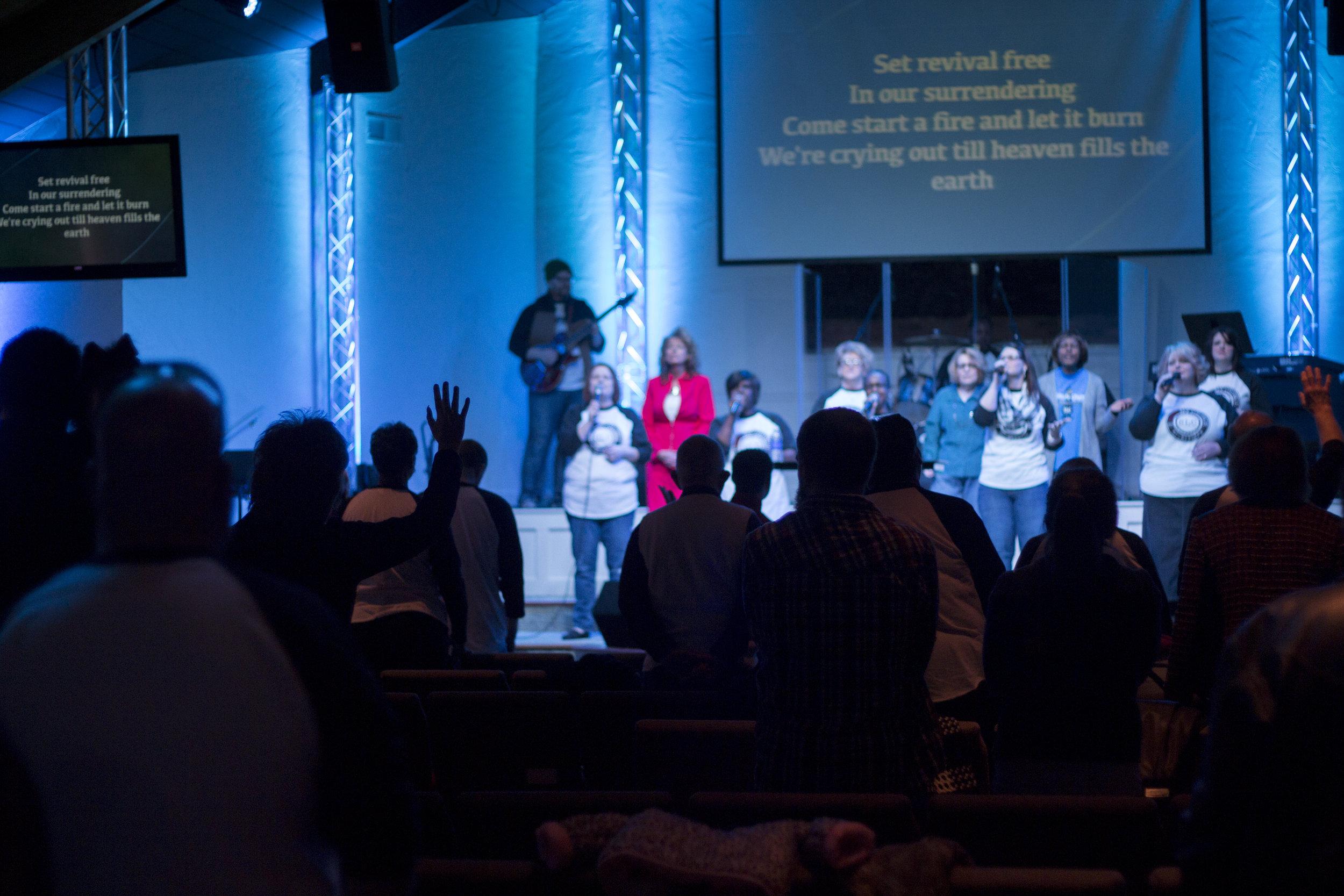 WORSHIP WITH US - SUNDAYS @10:30amWEDNESDAYS @7pm