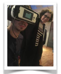 It wouldn't be a VR event without VR! Boo Wong and The Mill let people experience some of their latest cool projects.