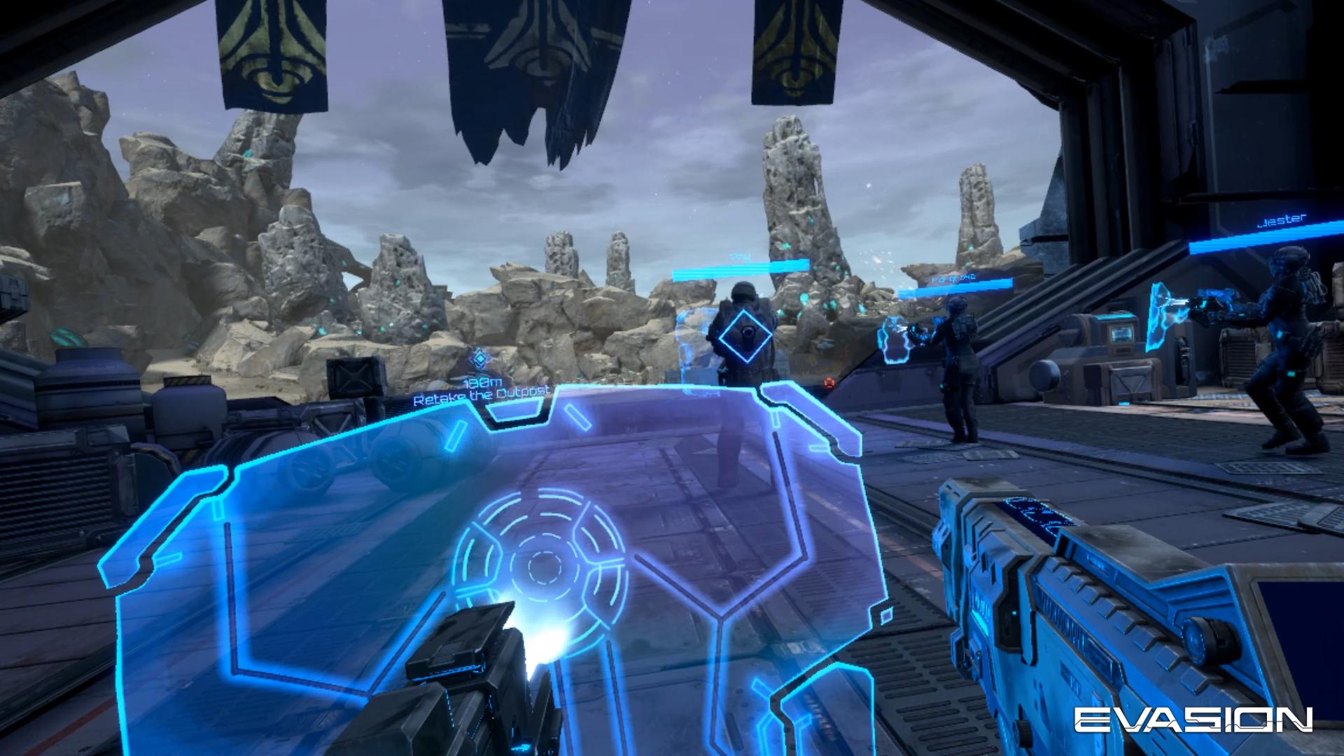 Evasion VR Game, Archiact