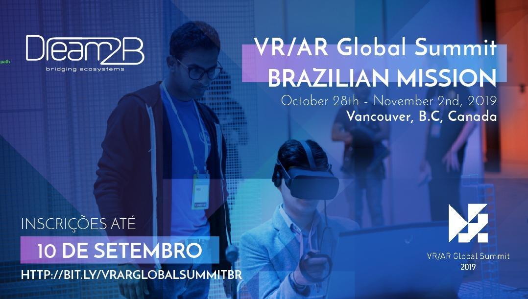 VR AR Global Summit Vancouver 2019 - Brazilion Mission delegation.jpeg