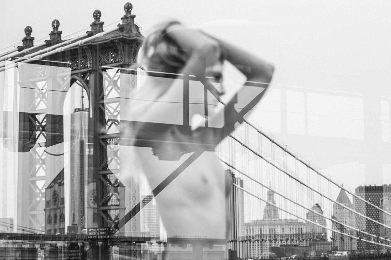 Nude York Nine , 2015, digital C-print (framed), 42 x 60 inches  (inquire)