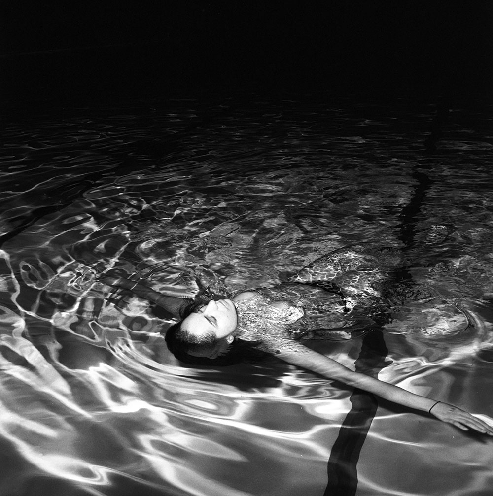 Quincey, Alexandra Pool, Toronto , 2016, gelatin silver print, 28 x 28 inches, edition of 10  (inquire)